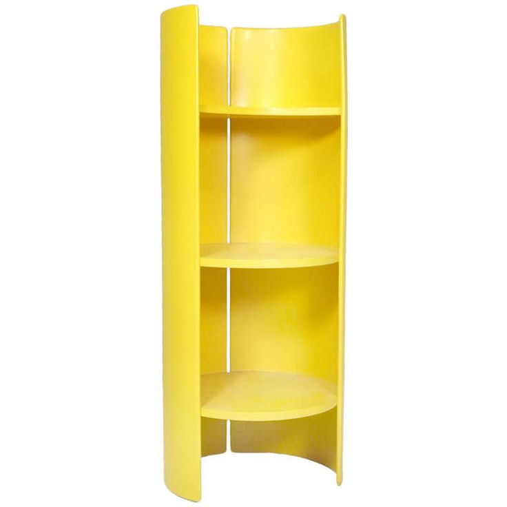 """Shelf """"Torriana"""" by Kazuhide Takahama, Gavina Italy, 1961   From a unique collection of antique and modern shelves at http://www.1stdibs.com/furniture/storage-case-pieces/shelves/"""