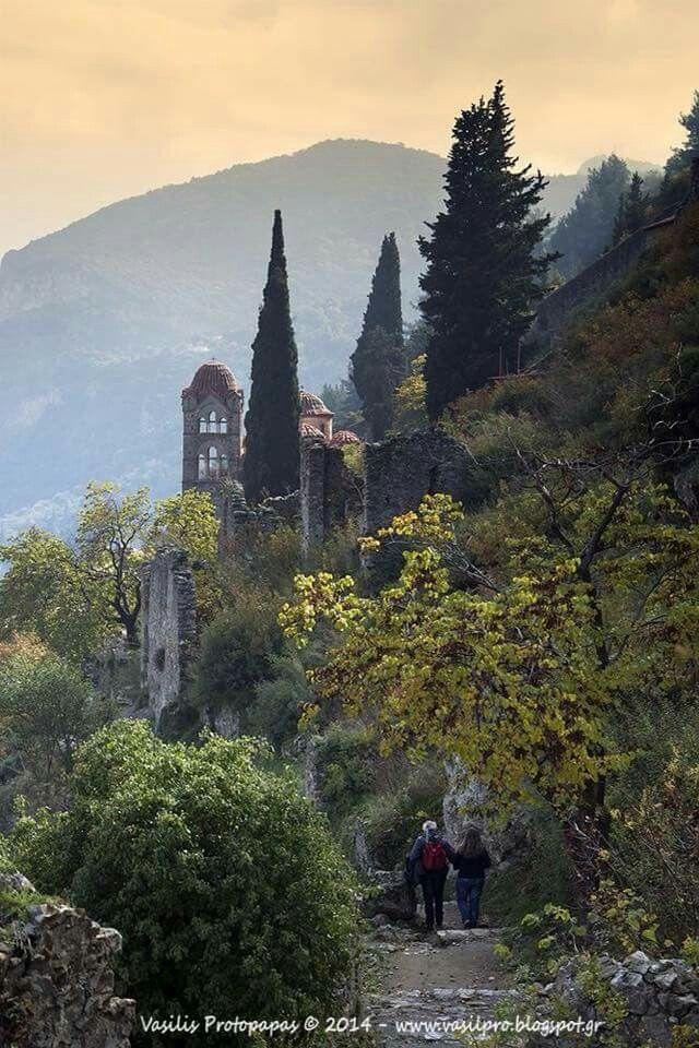 Pindos mountain in Greece