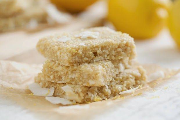 Веганский Нежданчик: Батончики со вкусом лимонной меренги