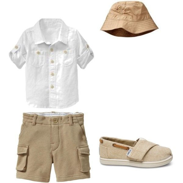"""""""Baby Boy Fashion!"""" by jazminmarie on Polyvore Looks like baby is ready for his camping trip! made by me @jazminmariie_ For more Cute outfits for kids follow @calikidstyle on instagram! kids fashion"""