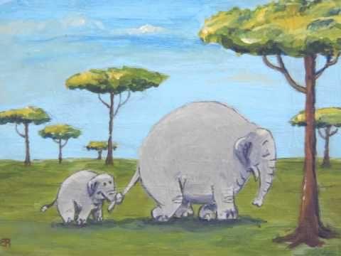 Kinderliedje met beeld: Olifantje in het bos - YouTube
