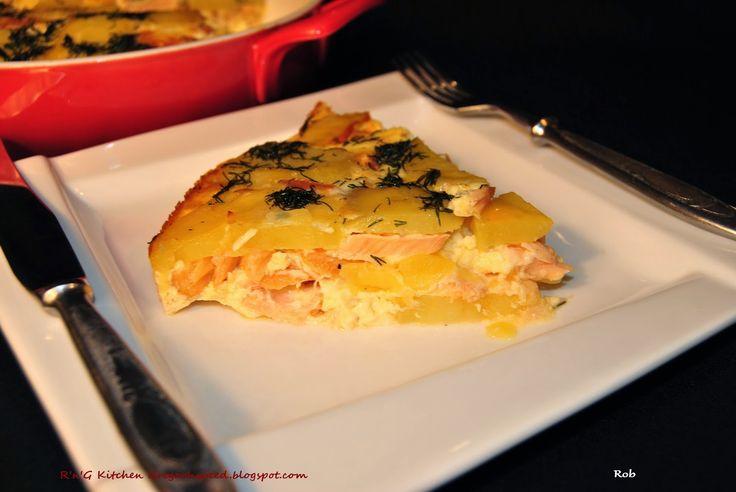 R'n'G Kitchen: Zapiekanka z łososiem
