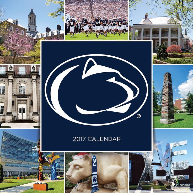 2017 Penn State University Wall Calendar