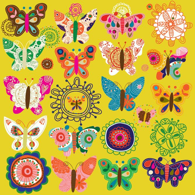 fabulous use of colour...carolyn gavin: Butterflies Patterns, Blog Archives, Art Journals, Butterflies Variations, Colors Butterflies, Colour Carolyn Gavin, Butterflies Illustrations, Caroline Gavin, Butterflies Fun