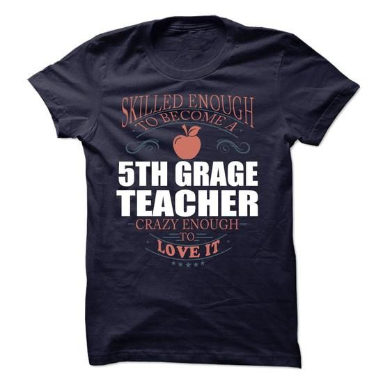 5th Grade Teacher - #tshirt quotes #winter sweater. SAVE  => https://www.sunfrog.com/LifeStyle/5th-Grade-Teacher-61524662-Guys.html?60505