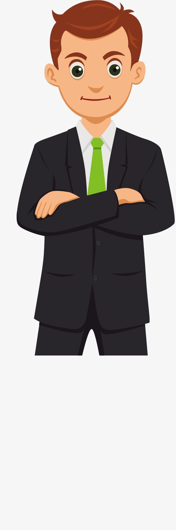 Vector Cartoon Business Man Man Clipart Vector Vector Material Png And Vector With Transparent Background For Free Download Man Clipart Man Vector Cartoon