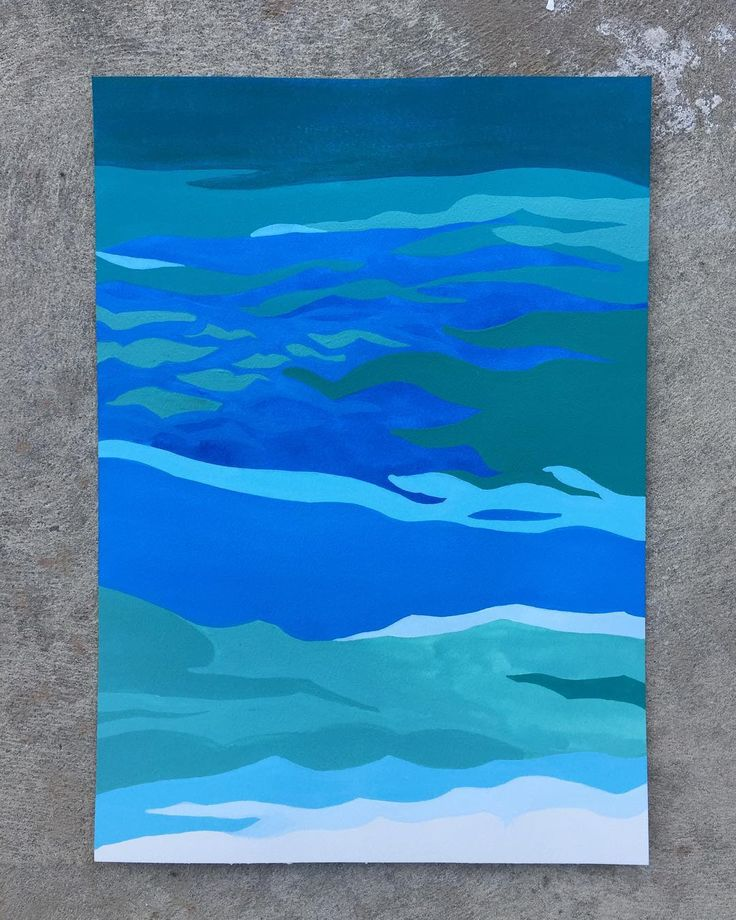 "Almost finished. ""UNDERWATER"" 