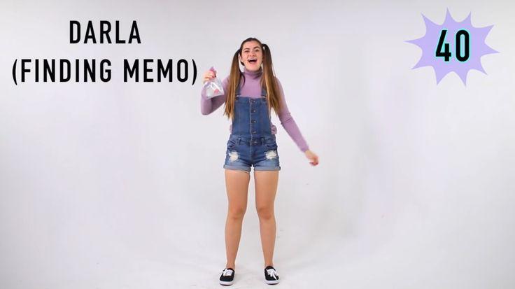 Darla from Finding Nemo DIY halloween costume