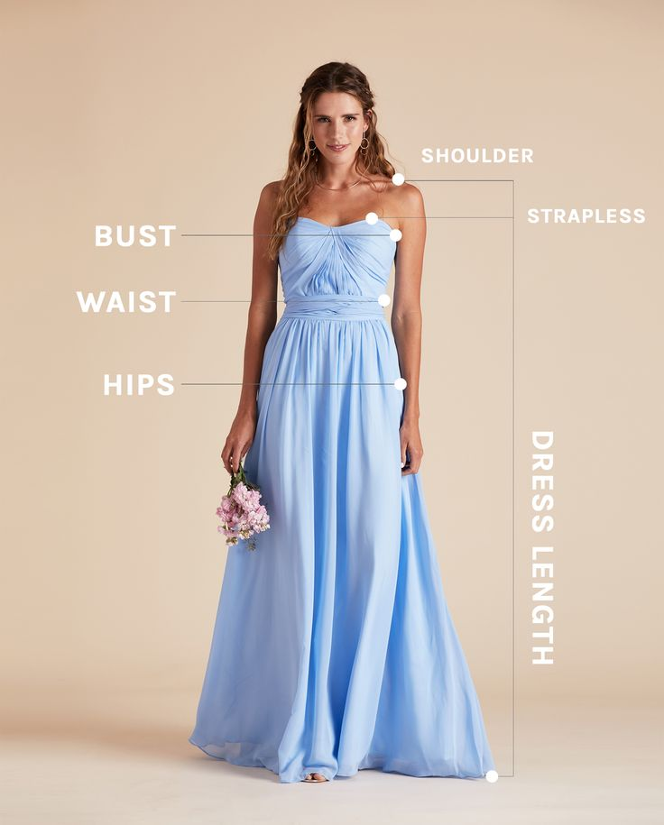 When it comes to flattering bridesmaid dresses, fit is everything. Watch the video to learn how to measure for a bridesmaid dress.