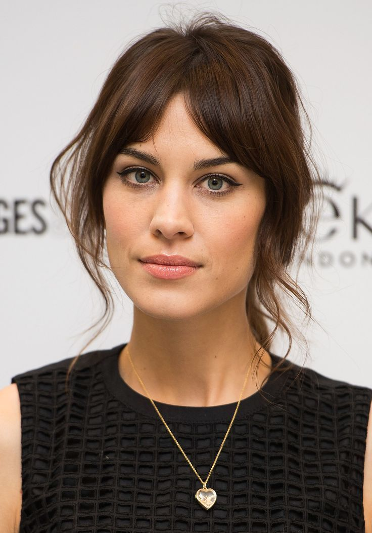 Related Image Alexa Chung Hair Growing Out Bangs Hair Styles