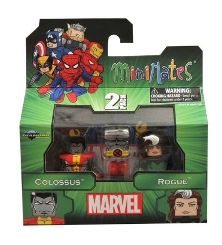 Minimates Marvel Series 47 Colossus  Rogue 2pack by Diamond Select * Read more  at the image link.