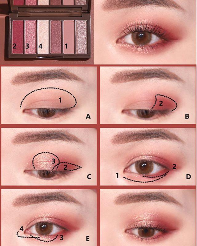 kokochi    on Instagram 2020 Christmas cosmetics with 2 pattern eye makeup Christmas is coming soon #christmas #cosmetics #instagram #kokochi #makeup #pattern