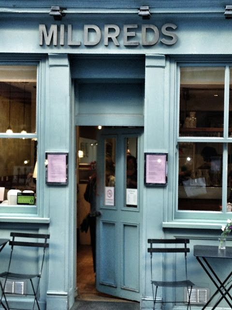 Mildreds, Soho. Vegetarian restaurant with the best Sri Lankan cashew nut curry.