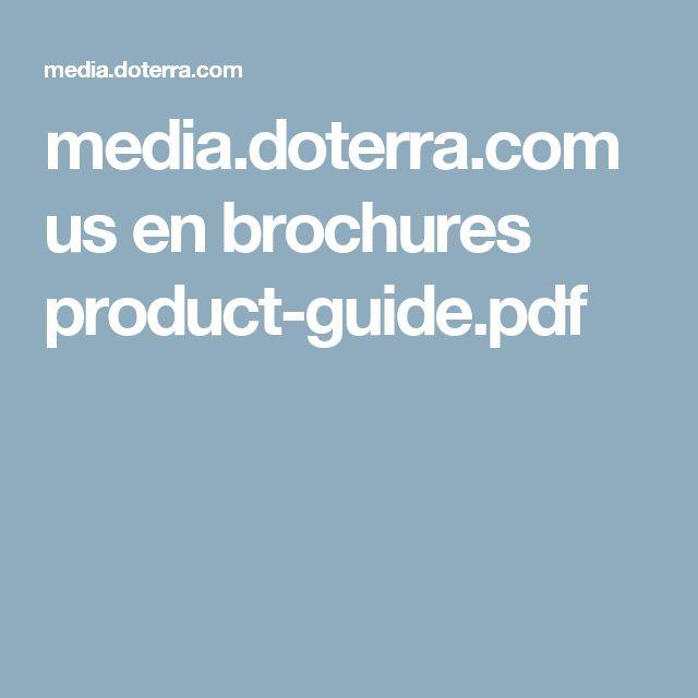 media.doterra.com us en brochures product-guide.pdf