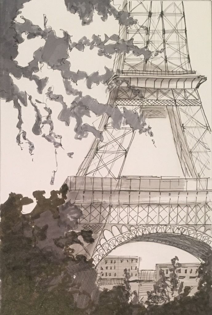 Day 28 Tour Eiffel, from 22/10/2015
