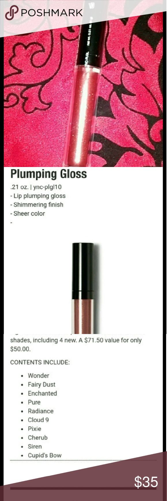 Best lip #plumper ever In color cupids bow Color is Cupid's bow.  All natural and cruelty free paraben free Best plumpinh gloss with a gorgeous light color finish, you can use over #lipstick or alone .  See all pics Free gift with purchases and bundles  Make offers and bundles! I'm extremely flexible   #tarte #nyx #benefits #gloss #katvond #anastasia #urbandecay #toofaced #lipstick #bobbibrownmakeup #plump #botox Makeup Lip Balm & Gloss