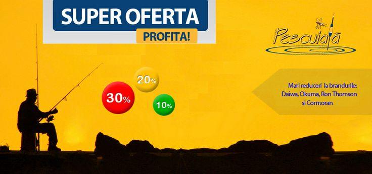 Reduceri mari la branduri tari: http://www.pescuiala.ro/lichidari-stoc/newsletter/