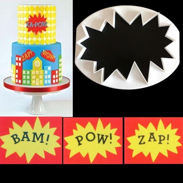 4Pcs Sugarcraft Football Fondant Mold Cookie Cutter Cake Decor Tools Bakewar IU