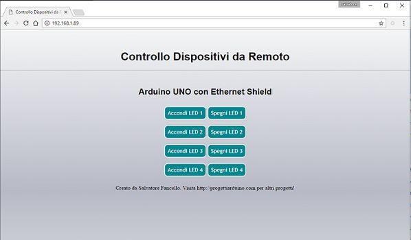 Salve amici, in questo tutorial vedremo come controllare i dispositivi domestici con Arduino Uno e ethernet shield tramite una pagina sul vostro browser. Quindi potrete accedervi da qualsiasi...