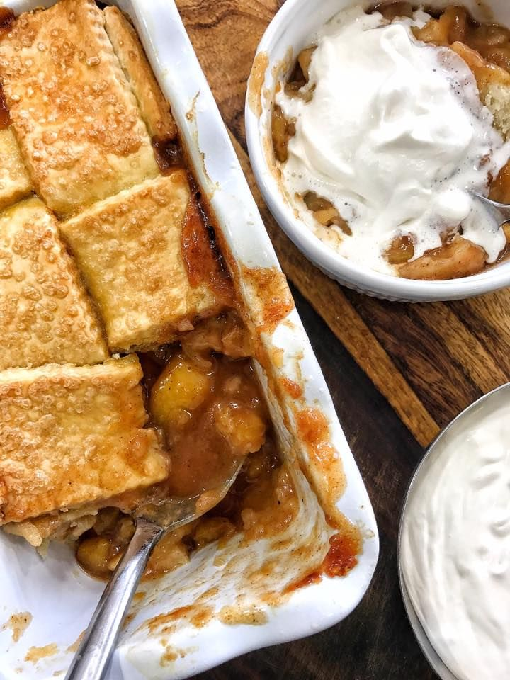 White Hennessy Peach Cobbler | DariusCooks.TV