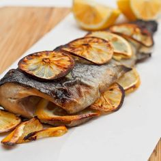 A four ingredient oven baked trout recipe that is bound to be come your new go to fish recipe. Ready in under 30 minutes with minimal work required. Both gluten-free and dairy-free.