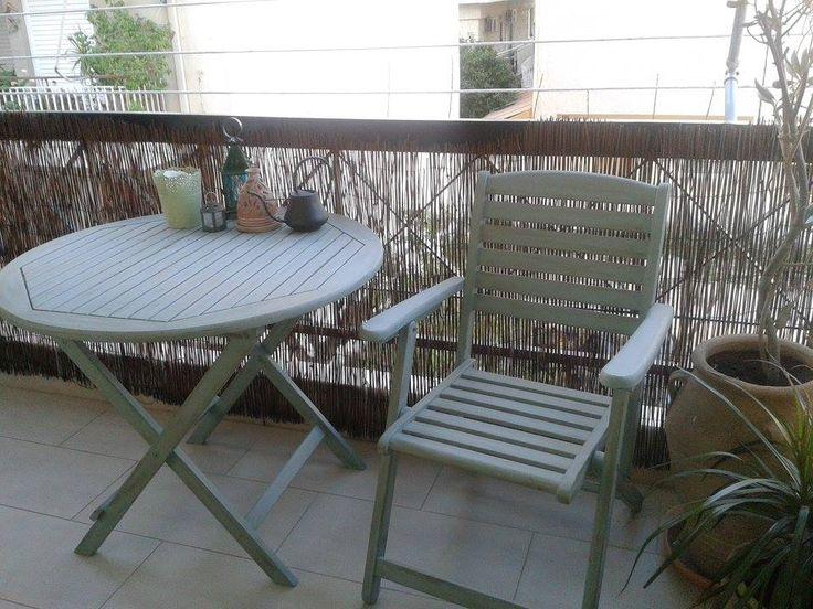 #belovedstudentspieces #garden #table #chair #autentico #chalkpaint #vintage