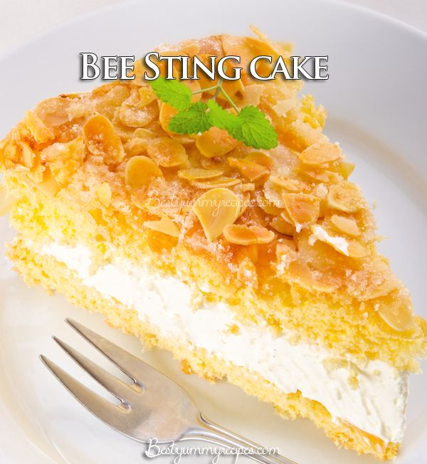 South African Bee Sting Cake Recipe With Honey