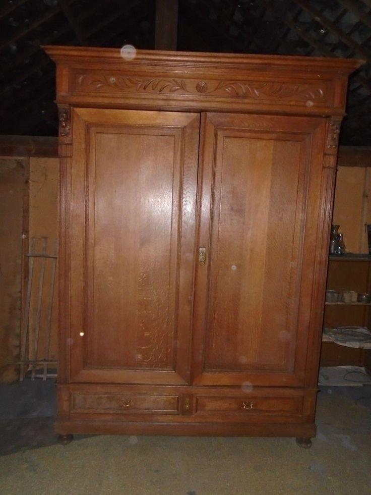 17 best ideas about meuble chene on pinterest meuble en for Armoire ancienne