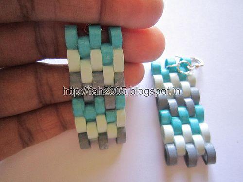 Handmade Jewelry - Paper Quilling (Petals) Earrings (2)