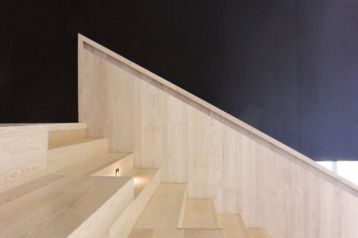Détail gradin - Projet LOAD - ESADM Marseille Luminy - OH!SOM Architectes