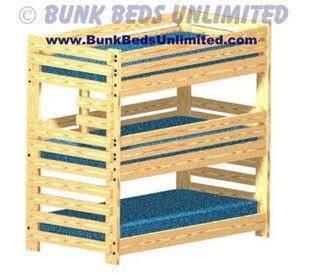 Triple Bunk Bed Plans Part 52