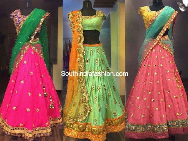 Designer Half Sarees by Ashwini Reddy photo