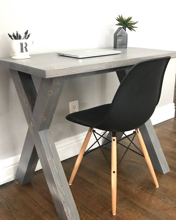 X Base Desk Small Desk In 2020 Simple Desk Furniture Bedroom Desk