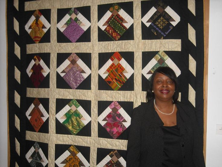 Looking for quilting project inspiration? Check out African Princess quilt by member TeeToequilts.