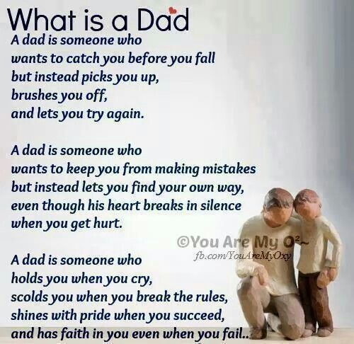 What is a Dad...perfect for scrapbooking