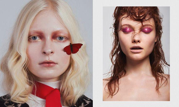 #макияж #подводка #тени #makeup #тренд #розовый #beauty #стиль #мода #влажноевеко #мокрыйсмоки #смоки #глянец