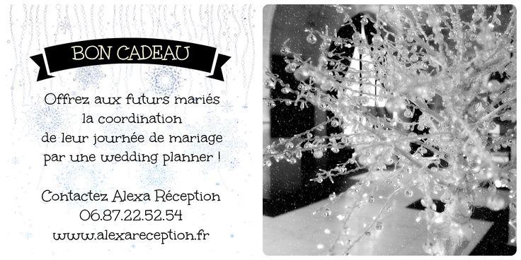 Bon cadeau : offrez la coordination de leur journée de mariage aux futurs mariés !
