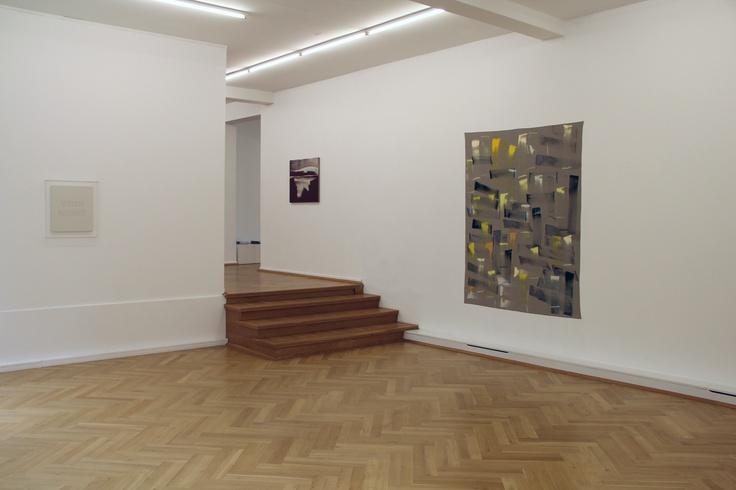 Exhibition view, group exhibition with works by Remy Zaugg, Robert Zandvliet and Ingo Meller at Bernhard Knaus Fine Art, Frankfurt  http://www.bernhardknaus-art.de/Robert_Zandvliet_Paintings_E.html