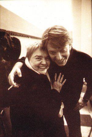 Fernanda Pivano e Fabrizio de André. Se ne andava l'11 gennaio 1999 il grande #Faber