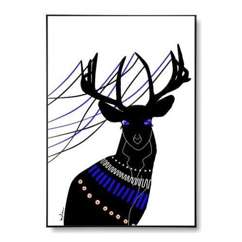 Jeleń - plakat