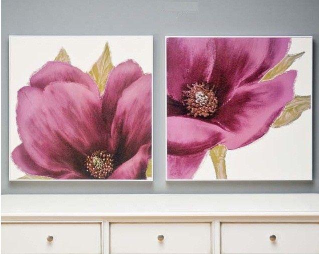 cuadros de flores gigantes - Buscar con Google