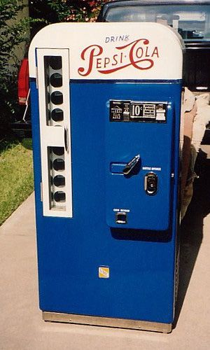 vintage pepsi machine models