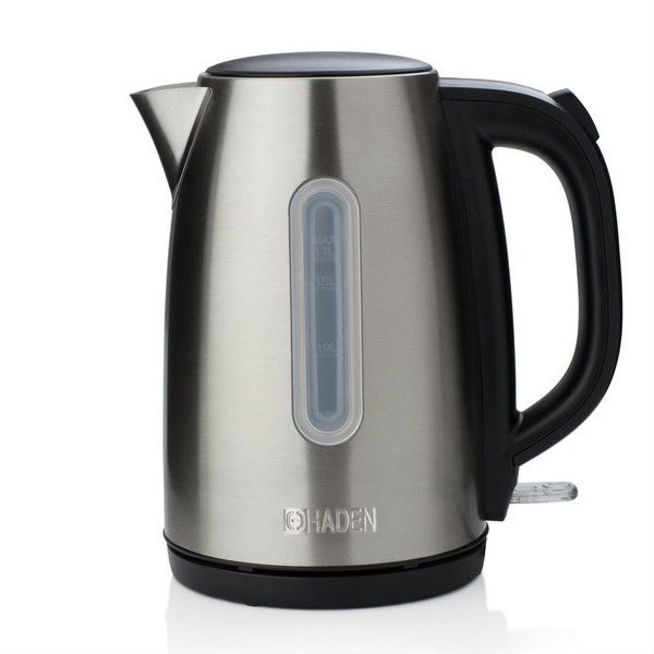Haden Stratford Stainless Steel Kettle 1.7L (2.535 RUB) ❤ liked on Polyvore featuring home, kitchen & dining, small appliances, red tea kettle, modern tea kettle, cordless tea kettle, cordless kettle and modern kitchen accessories