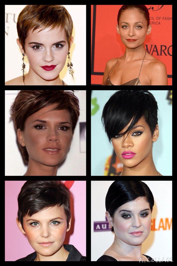 Kibbe•Flamboyant Gamine• Emma Watson, Nicole Richie, Victoria Beckham, Rihanna, Ginnifer Goodwin, Kelly Osbourne