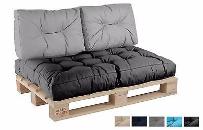 palettenkissen palettenpolster paletten kissen sofa polster in outdoor garten ebay and sofas. Black Bedroom Furniture Sets. Home Design Ideas