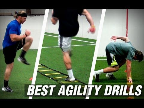 http://kbandstraining.com/four-best-speed-and-agility-drills/ These four videos take viewers through the basics of the best speed and agility drills for high...