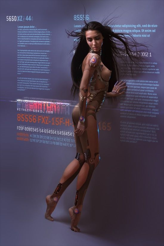 Pictures Of Futuristic Girl Sex Robots