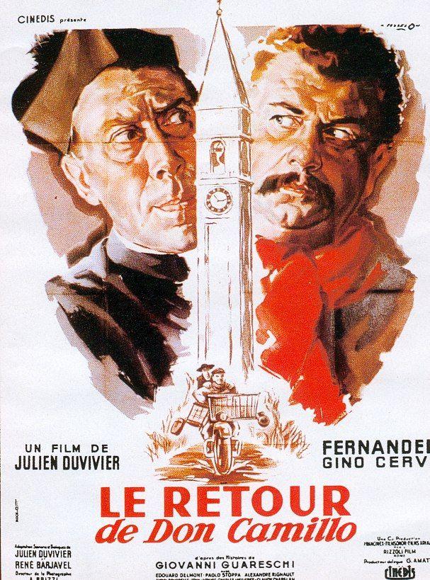 Le retour de don camillo - film 1953
