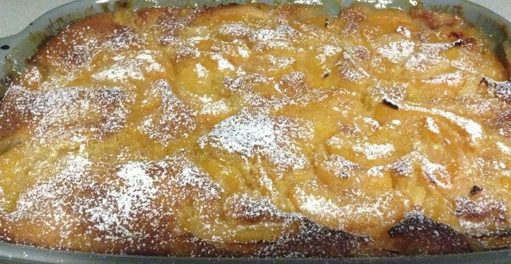 Peach cobbler ( favourite family dessert )