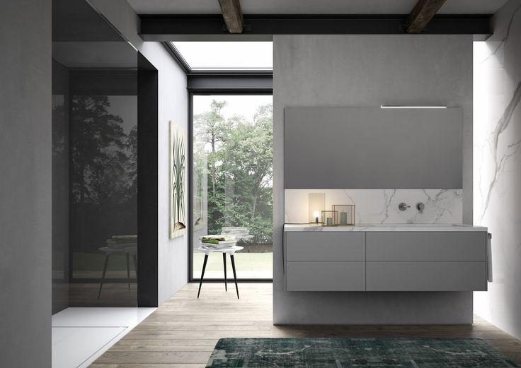 Interni bagno ~ Oltre 25 fantastiche idee su mobili da bagno grigi su pinterest